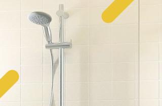 Une nouvelle douche senior facile à entretenir
