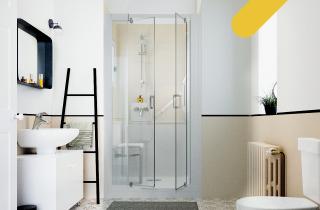 Une douche ergonomique